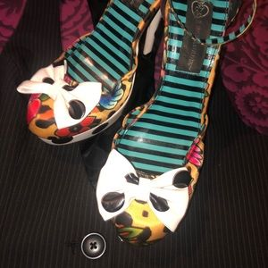Iron Fist for Shoedazzle Polka Multi Stilettos